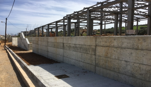 Municipality of  Rethymnon - Construction of the Perivolia indoor gym - 2017