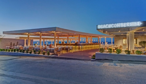Beachcomber Restaurant- Cocktail Bar In Crete 2014